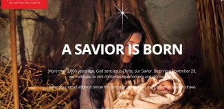 A Savior is Born, LDS Christmas