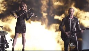 Lindsey Stirling and Dierks Bentley