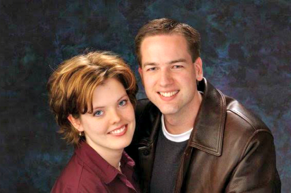 Couple's engagement photo