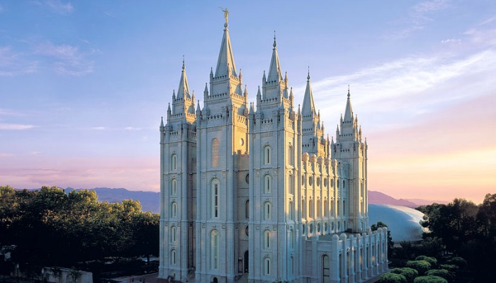 SLC Temple, LDS