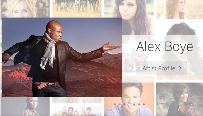 Mormon Music website slider