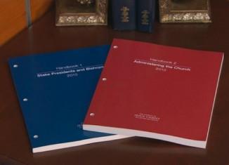 LDS handbooks