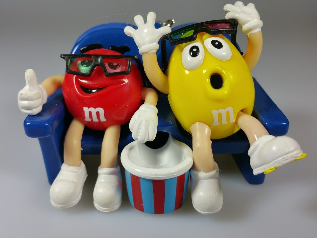 M&M souvenir from M&M World Las Vegas