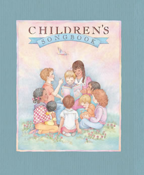 Cover of the pocket sized Children's Hymnal