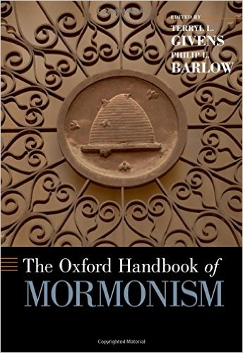 Book cover of The Oxford Handbook of Mormonism