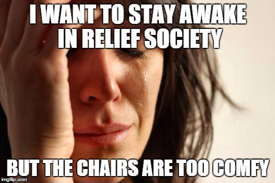 Awake in Relief Society