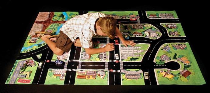 CTR Town Play Mat Christmas Gift
