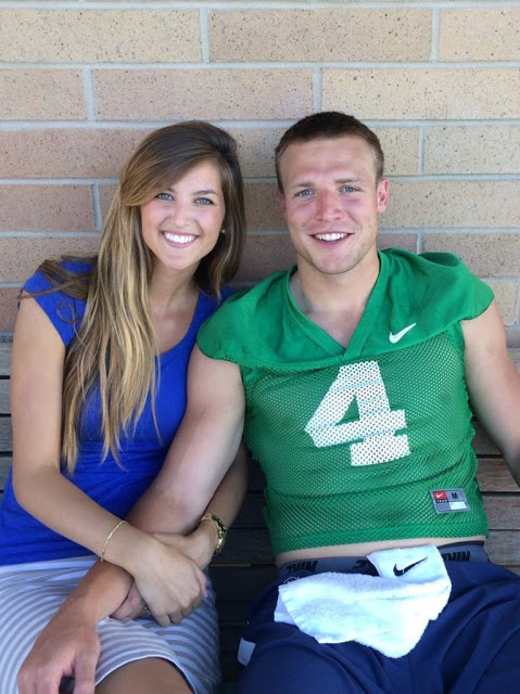 Emily and Taysom Hill