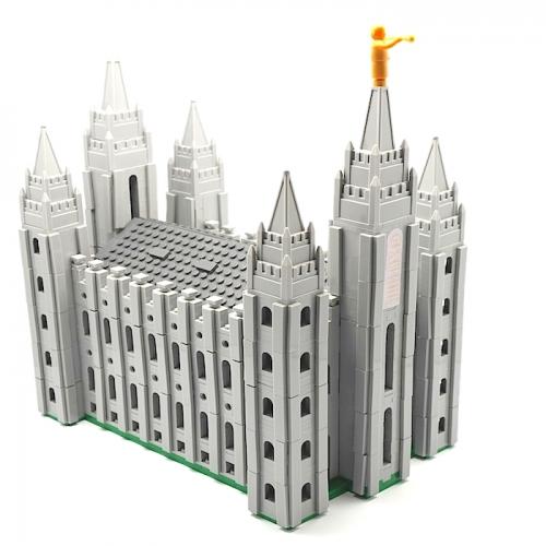 Salt Lake Temple Lego Set