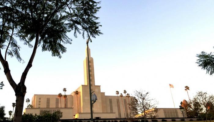 LA Temple, LDS
