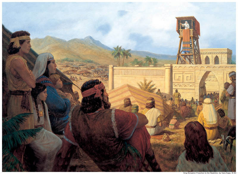King Benjamin Book of Mormon