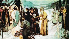 Christ in Russia painting