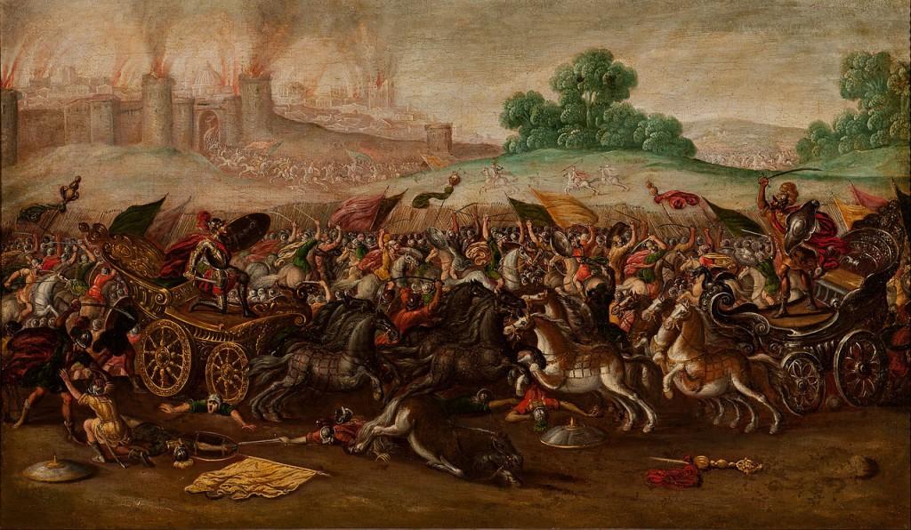 Babylon Conquering Jerusalem by Juan de la Corte