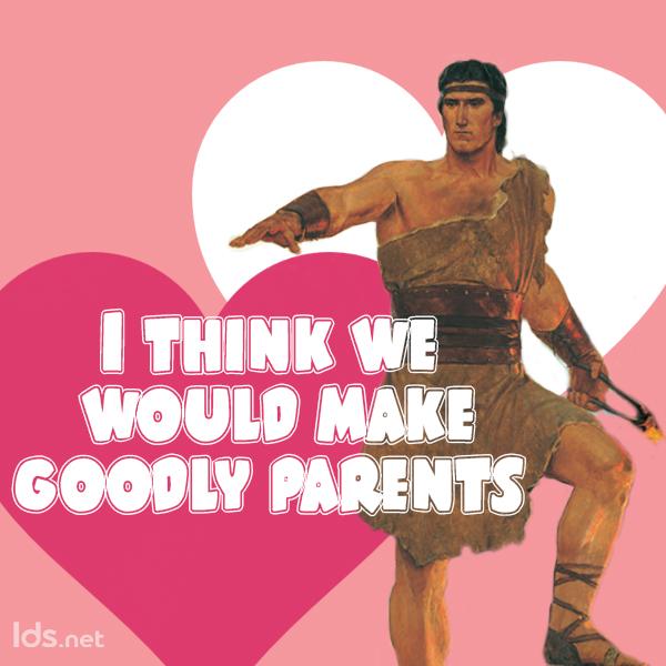Nephi, Book of Mormon Valentines meme