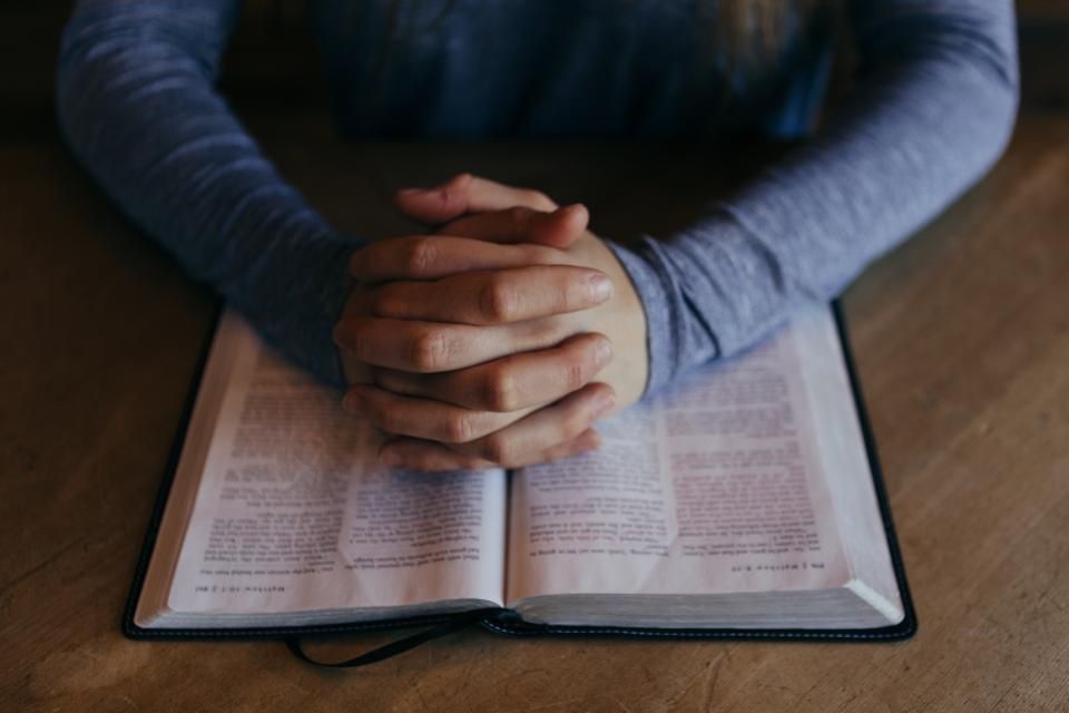 praying about posting on Facebook