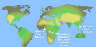 New LDS Missions 2016