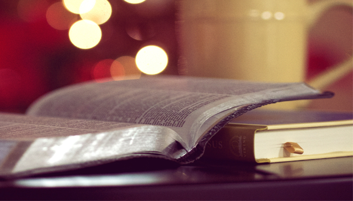 Scripture parables illuminated by light