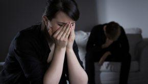 Distraught spouse