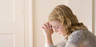 Latter-day Saint prays first thing in the morning