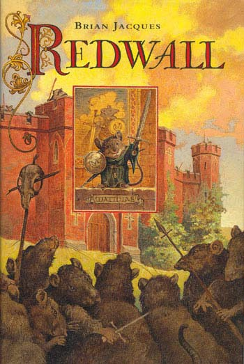 Great teen books like Redwall by Brian Jacques