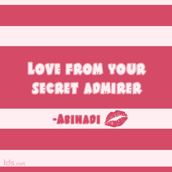Abinadi, BOM, Valentine Meme