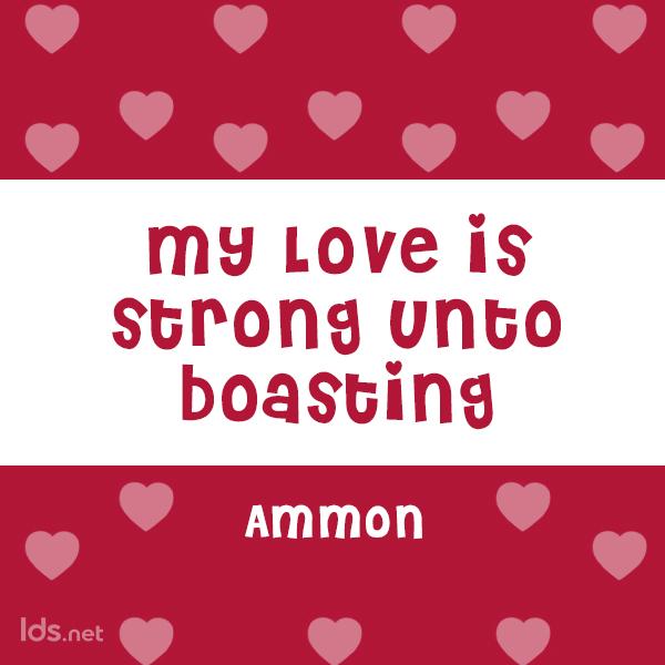Ammon, BOM, Valentines Meme