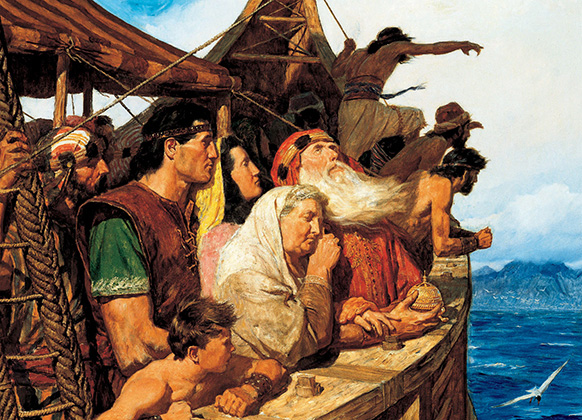 Nephi built a ship after the manner of God's direction