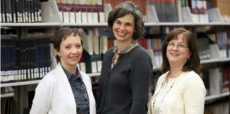 Women helping discover history