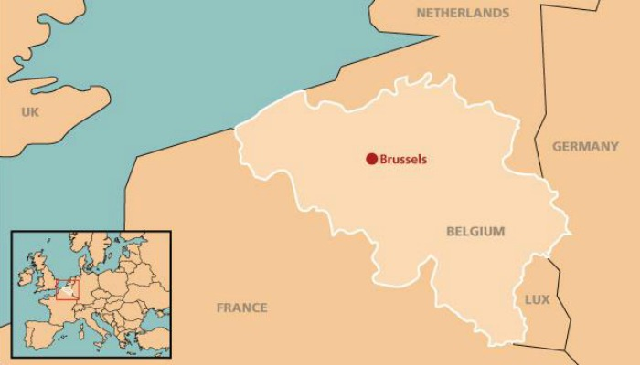 Brussels-Map