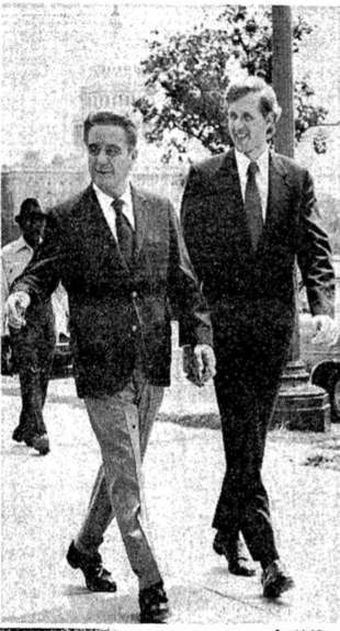 Judge Sirica and D. Todd Christofferson photo