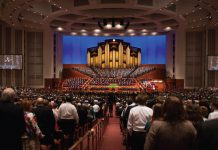 lds conference center interior