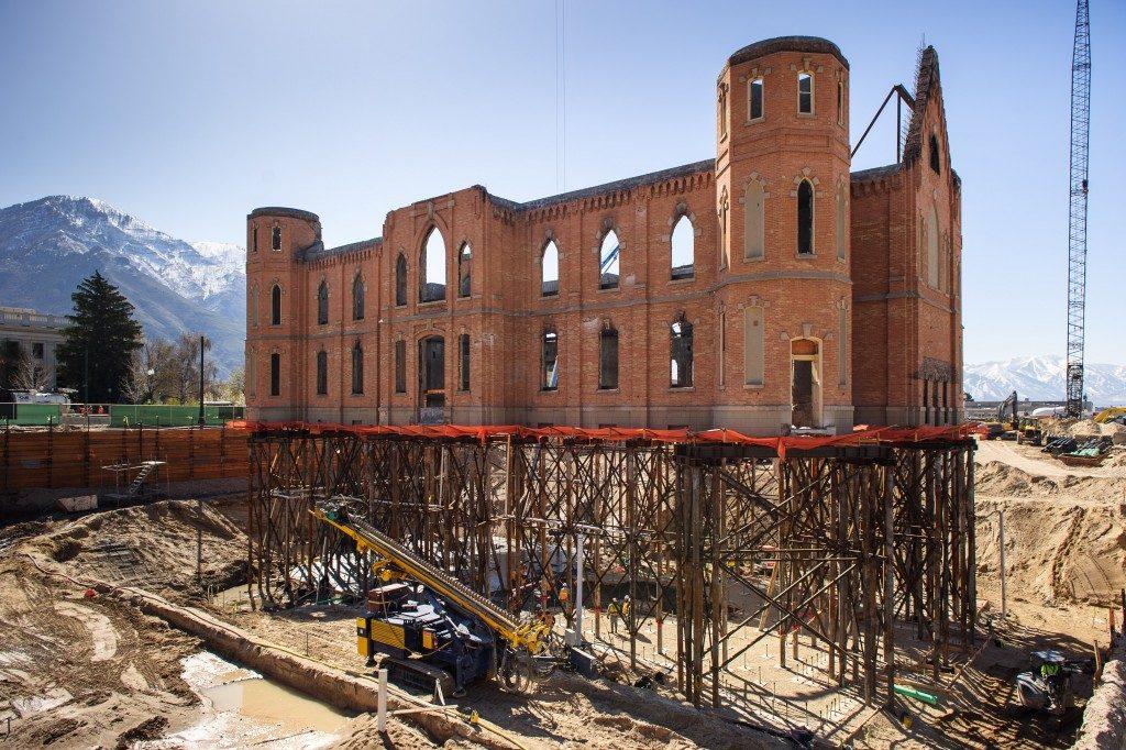 Provo City Center Temple under construction