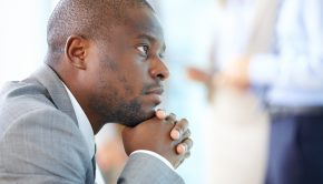 """man contemplating: """"how to magnify your calling"""""""