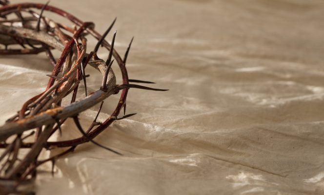 condescension of god through crown of thorns