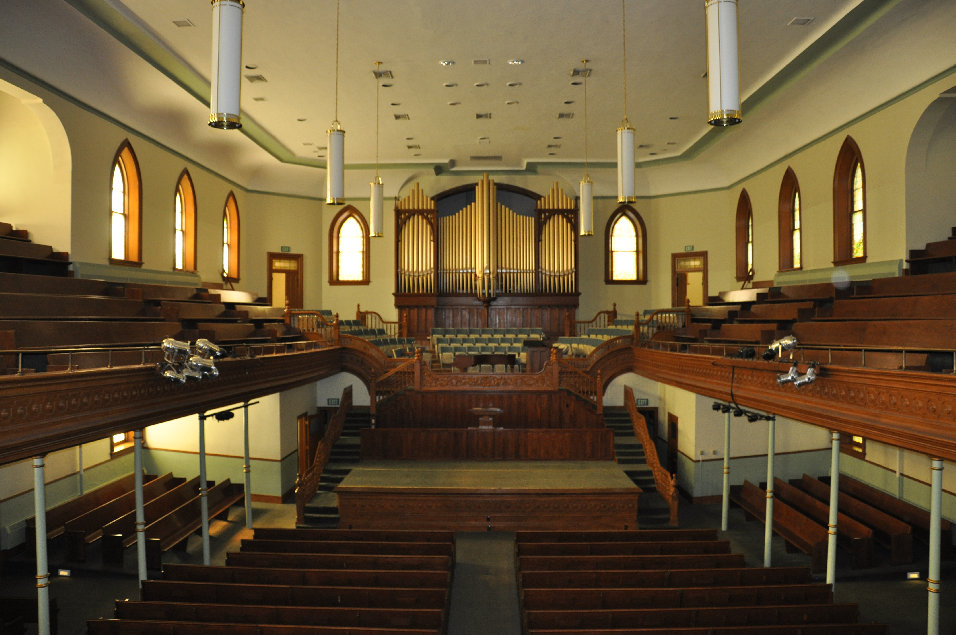 provo tabernacle interior