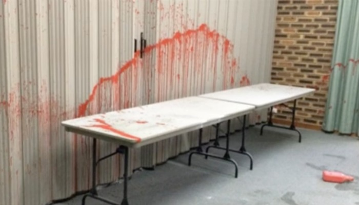 LDS Church vandalism