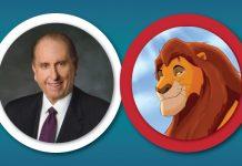 President Monson compared to Mufasa