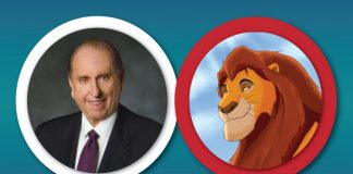President Monson compared to Mufasa