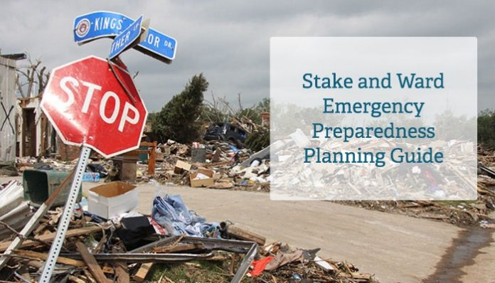 Lds stake emergency preparedness plan form