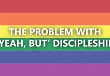 yeah, but discipleship