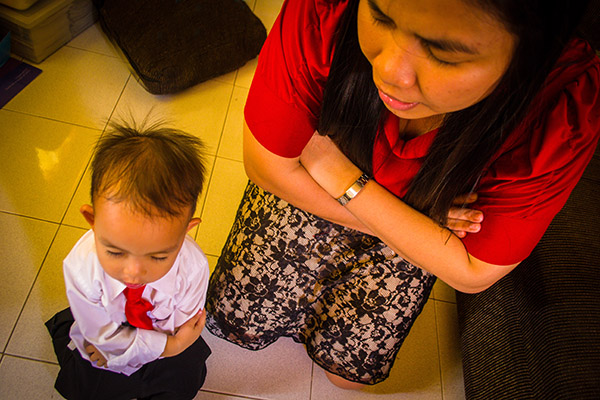 Daily prayer and scripture study are crucial to building your child's spiritual armor