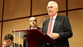 President Uchtdorf creates first stake in Czech Republic