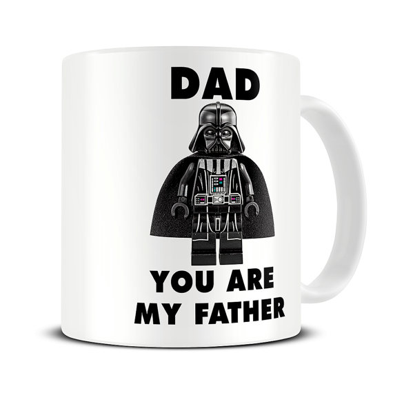 hilarious father's day gifts with darth vader mug
