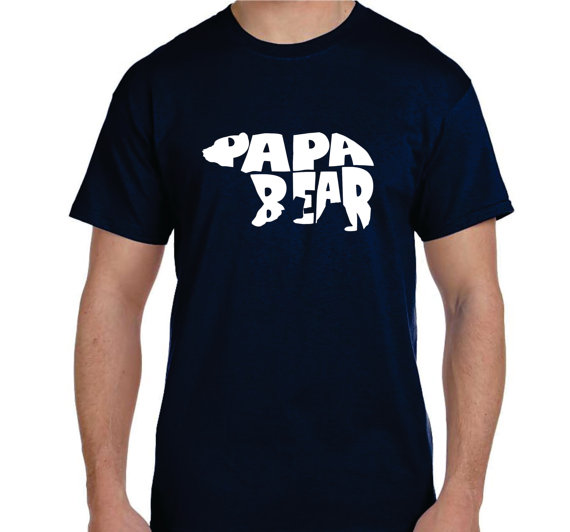 hilarious father's day gifts with papa bear shirt