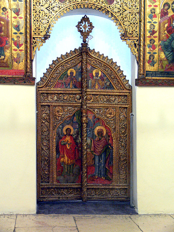Mormon temple ceremonies similar to Sarajevo Royal Door
