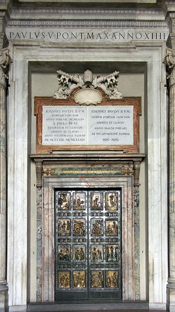 Holy Door in Rome