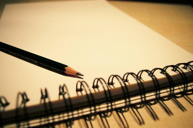 Dibujando un carácter de la Escritura