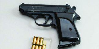 Gun Control Debate pistol