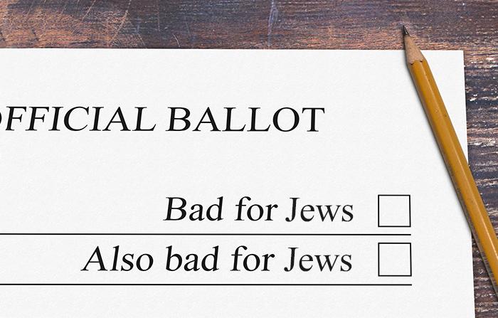 bad for Jews ballot