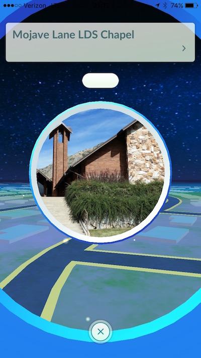 pokespots at church locations